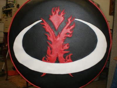Burning Man Tire Cover