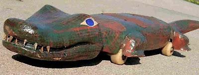 Crocodile Skateboard