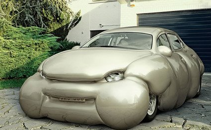 Silver Fat Art Car Central