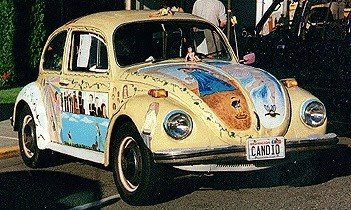 CanDid VW Art Car Front