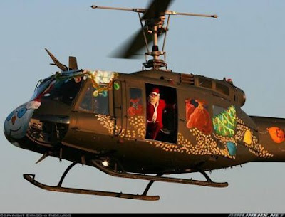 Santas Helicopter Present Asault Vehicle or SHPAV