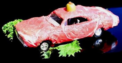Meat Art Car