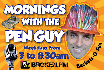 The Pen Guy Show on Broken.fm