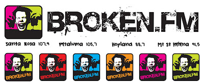 Broken.FM Logo By Envisionary Design