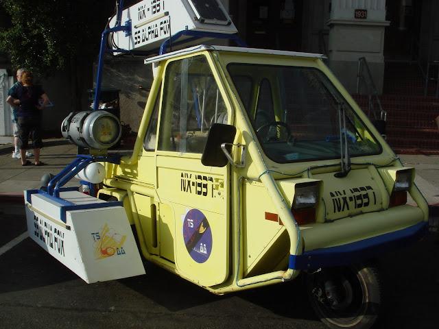 NX-1337 Flame Thrower Art Car