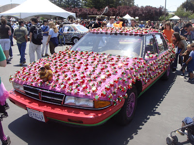 Squirly Whirly Art Car by Tre Taylor