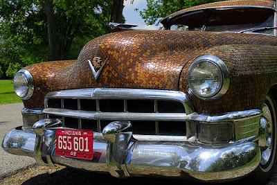 Cadillac Penny Art Car