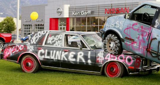 Cash For Clunkers Art Car