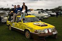 SpongBob Volvo Art Car