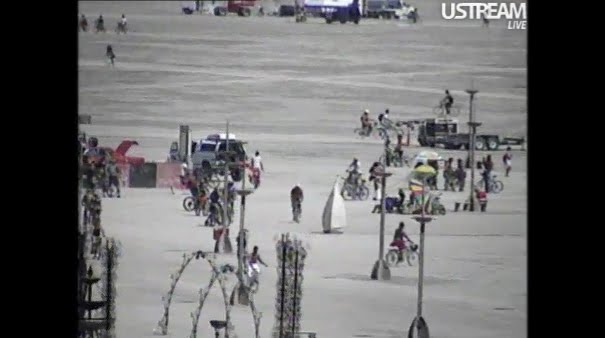 Watch Burning Man Live NOW!!! - via Ustream