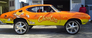 Cheetos Donk Art Car