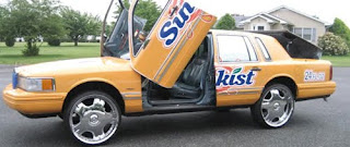 Sunkist Donk Art Car