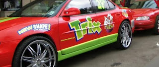 Trix Donk Art Car