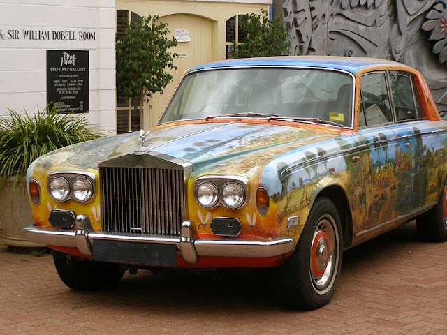Rolls Royce Art Car by Pro Hart Left Side