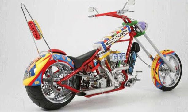 Pez Motorcycle is a sweet ride