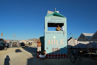 Milktropolis Mutant Vehicle at Burning Man