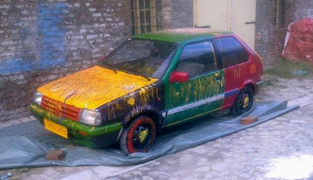 Magic Art Car From Croatia
