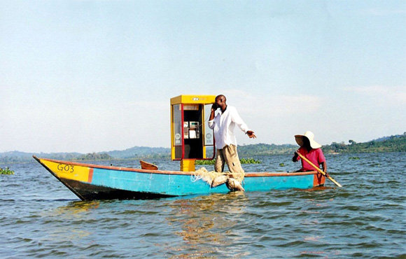 Floating Mobile Phone Box