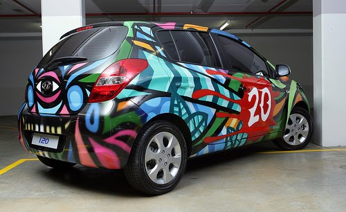 2011 Hyundai i20 Art Car
