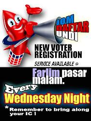 JOM DAFTAR @ Farlim Pasar Malam
