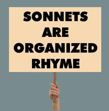 use rhyme  scheme