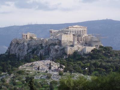 Άρειος Πάγος κάτω από την ακρόπολη των Αθηνών