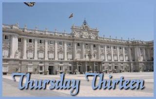 Thursday Thirteen - Palacio Real de Madrid