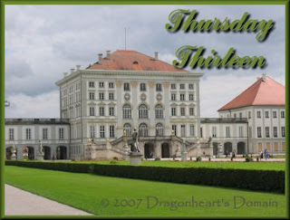 Thursday Thirteen - Nymphenburg Palace