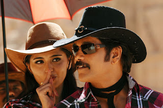Anushka Hot with Nagarjuna in Ragada Telugu Movie
