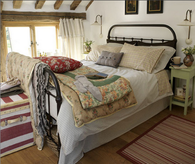 Cozy Cottage Bedroom For Fall