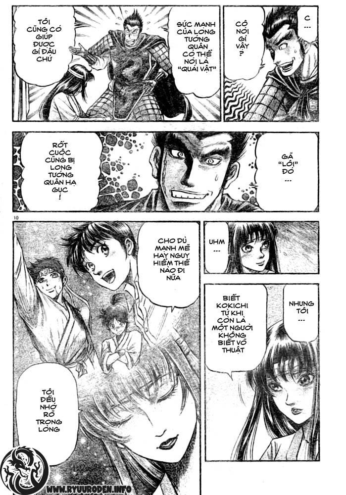 Chú bé rồng-Ryuuroden chap 182 Trang 10 - Mangak.info