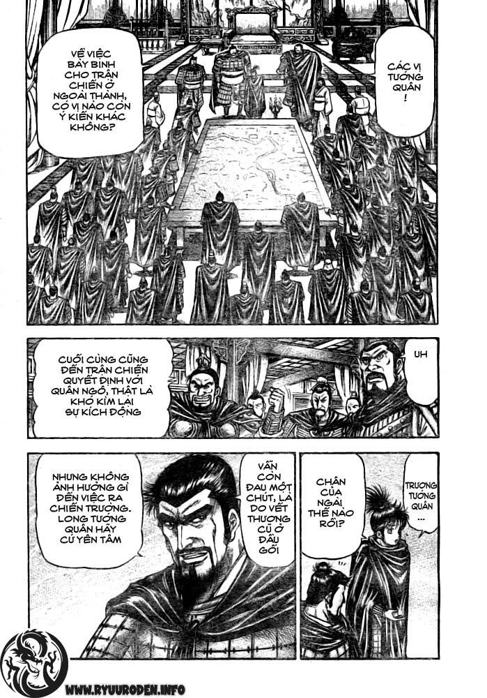 Chú bé rồng-Ryuuroden chap 182 Trang 12 - Mangak.info
