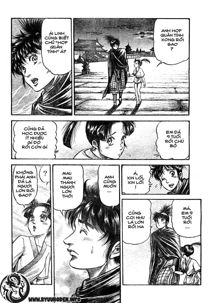 Chú bé rồng-Ryuuroden chap 182 Trang 18 - Mangak.info