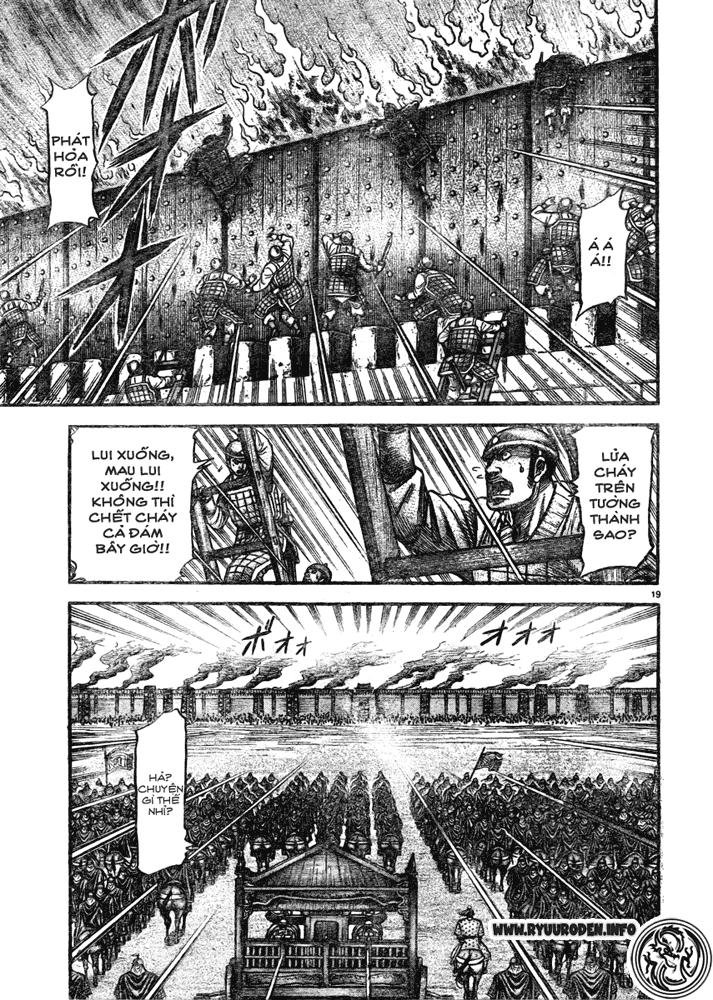 Chú bé rồng-Ryuuroden chap 181 Trang 19 - Mangak.info