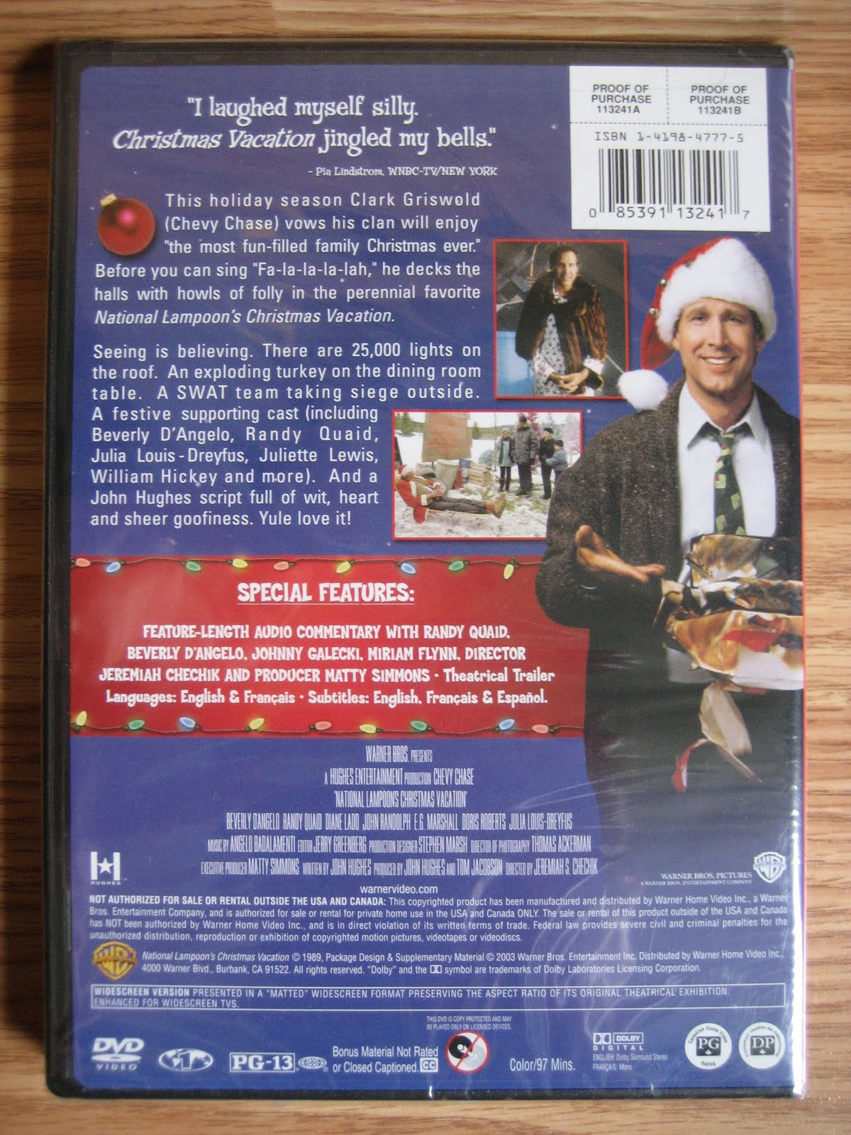 as with all my auctionssales i strongly encourage all my potential buyers to click on and take a good look at the larger and more detailed pictures in - Christmas Vacation 2 Trailer