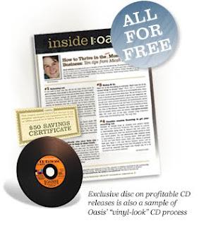 Brinde Grátis CD Oasis