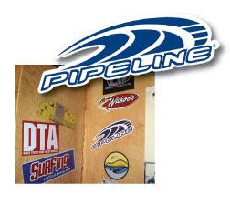 Brinde Gratis Binde  Adesivos Pipeline