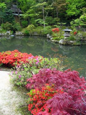 rocher jardin japonais