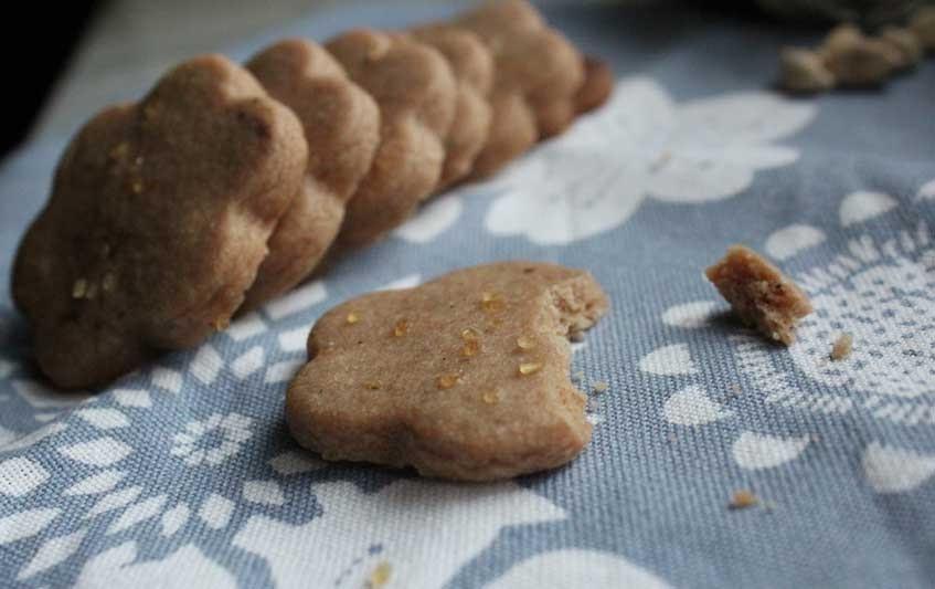 ... Happy Blog: Chocolate, Orange, Cardamom, Espresso Shortbread Cookies