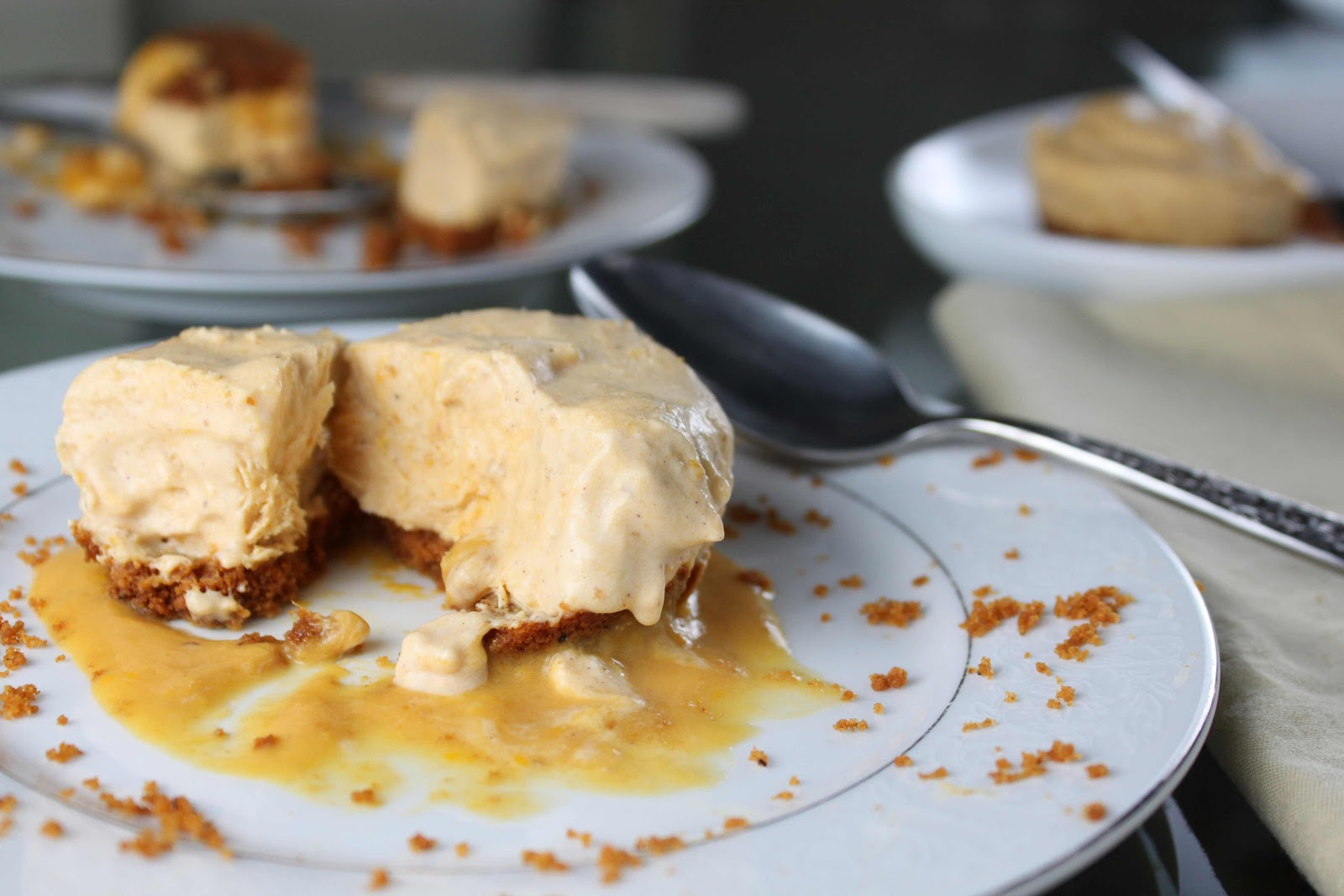 Fat and Happy Blog: Pumpkin Semifreddo Pie with Ginger ...