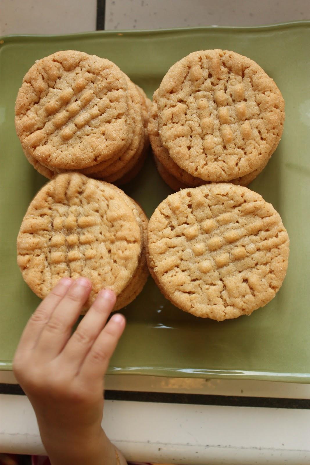 Bake Along Peanut Butter Cookies