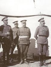 Tte. Col Primo, Col Sánchez Monje y Gral. Fdez Silvestre