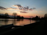 sailing club sunset