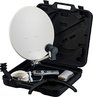 Maplins Suitcase Satellite Kit