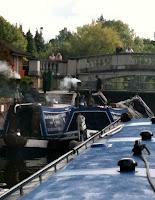Working coal boats