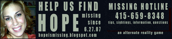 Hope is missing