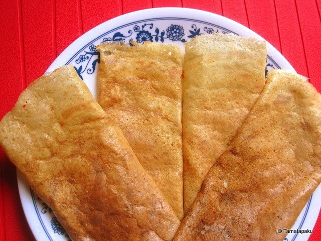 how to eat a dosa