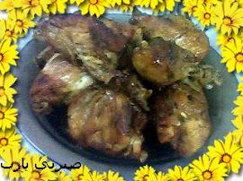 دجاج بالتوم وزيت الزيتون ... من مفروسه