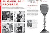 Revista del programa de cursos de verano 2011