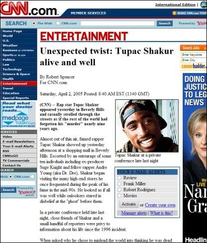 Is Tupac Still Alive?: Is Tupac Dead or Alive?